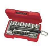 Teng Tools tools  1/4 inch socket wrench set - Metric size