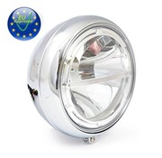 MCS 7 pouces phares LED, chrome