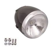 MCS headlight Vintage 5 3/4 inch black