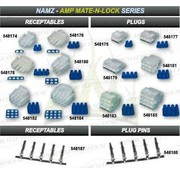 Namz cable amp connector plugs and receptables