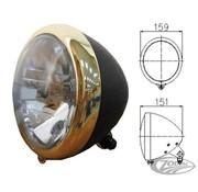 Zodiac headlight black and bronze