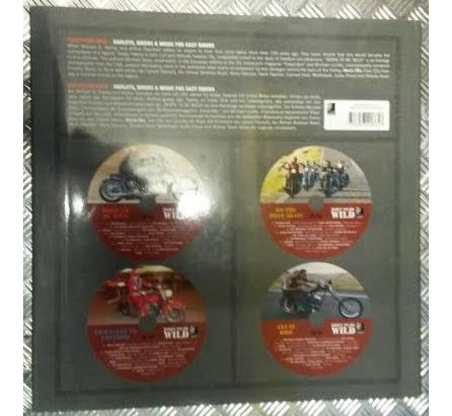 audio Born to be Wild - boek met 4 cd's