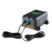 TC-Choppers batterie CHARGER 2-BANK BLACK