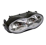 headlight double headlamp oval