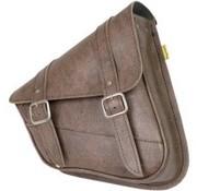 Willie + Max Luggage tassen SWINGARM ZADELTAS - Softail Brown