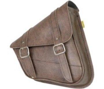 Willie + Max Luggage SCHWINGE SATTEL - Softail Brown