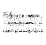 MCS 5 Vitesse engrenages de transmission 80-06 Shovelhead/Evo/Twincam Bigtwins
