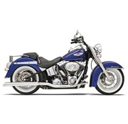Bassani TRUE-DUAL colectores CROSSOVER - Softail 86-06