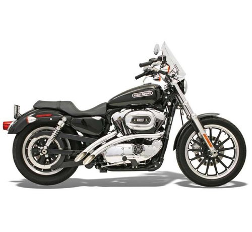 Bassani Harley Davidson Abgas Radial -Sweeper, 86-03XL Sportster