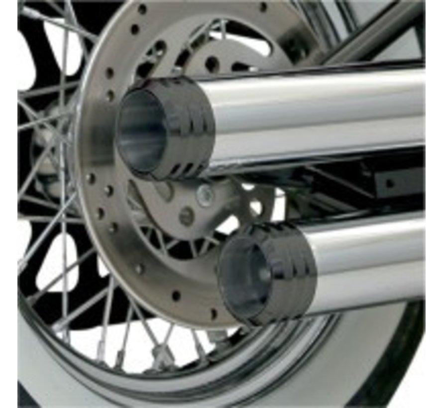 Harley Davidson ENDCAP BLACK 3 INCH GENUTETE