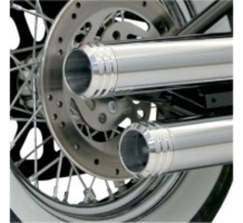 Bassani Harley Davidson ENDCAP 3-Zoll-POLISHED GENUTETE