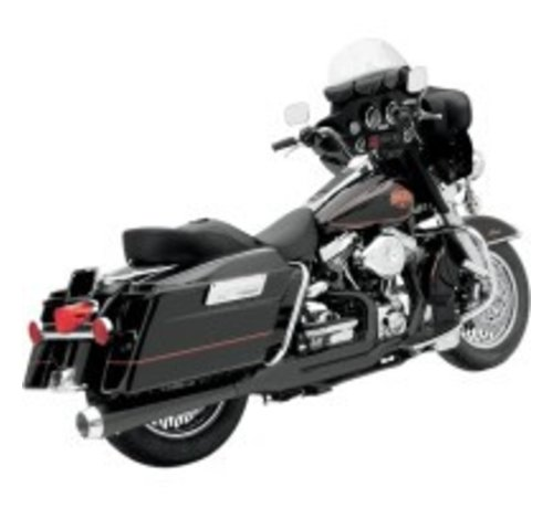 Bassani Harley Davidson Hitzeschilder BLACK FLH 2-1 ROAD RAGE 2-IN-1-Systeme
