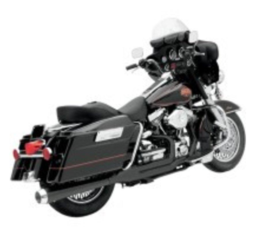 Harley Davidson Hitzeschilder BLACK FLH 2-1 ROAD RAGE 2-IN-1-Systeme