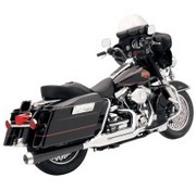 Bassani exhaust HEAT SHIELDS CHROME FLH 2-1 ROAD RAGE 2-INTO-1 SYSTEMS