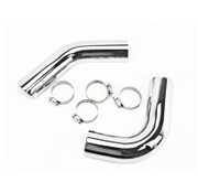 TC-Choppers Heat shield Pro-Street exhaust system. DYNA