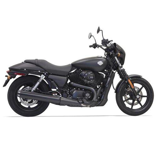 "Bassani Harley Davidson 4 ""Black Runde kann die Performance Muffler - 500/750"