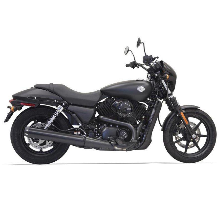 "Harley Davidson 4 ""Black Runde kann die Performance Muffler - 500/750"