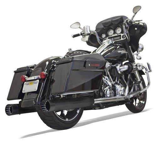 Bassani Harley Davidson MUFFLER DNTS 95-15 chrom / schwarz