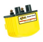 Accel ontsteking single fire coil SUPER - Geel / Zwart / Chroom