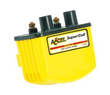 Accel Zündung Single Fire Coil SUPER - Gelb / Schwarz / Chrom
