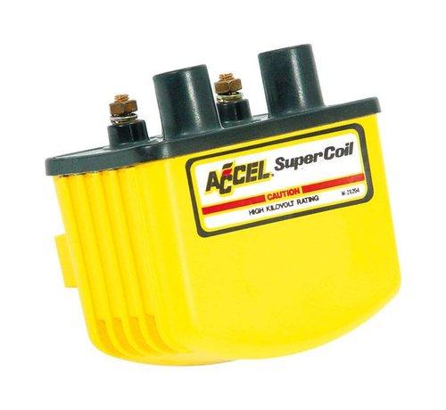 Accel Accel Zündung Single Fire Coil SUPER - Gelb / Schwarz / Chrom