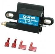 DYNA Ignition coil dual fire MINIATURE 2 PLUGS 3 Ohm
