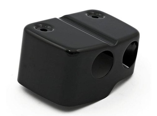Ignition Coil cover Black/Chrome - 99-05 FXDL FXDWG Dyna