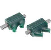 Dynatek Ignition Coil DUAL TOWER 12V 3 Ohm - Green