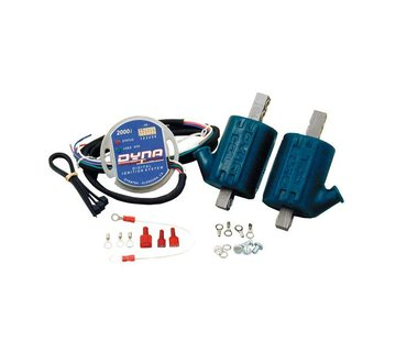 DYNA ignition single fire coil Dyna 2000I PLUG KIT 2 COILS
