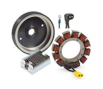Accel Rotor / Stator / Regler Charge Kit; 91-99 Bigtwin