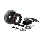32 AMP CHARGE KIT, NOIR REGULATEUR; 70-99 Bigtwin