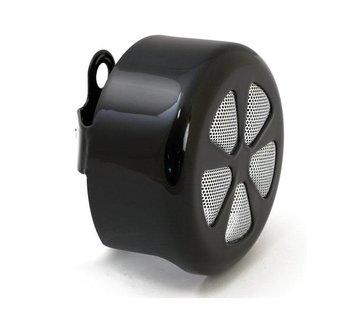 MCS 5-Speichen-HORN Deckel rund verchromt oder schwarz