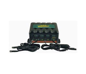 Battery tender batterie 4 BANK INTERNAT. + (EU) LADER