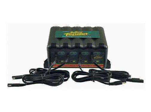 Battery tender batterie 4 BANK INTERNAT.+ (EU) CHARGER