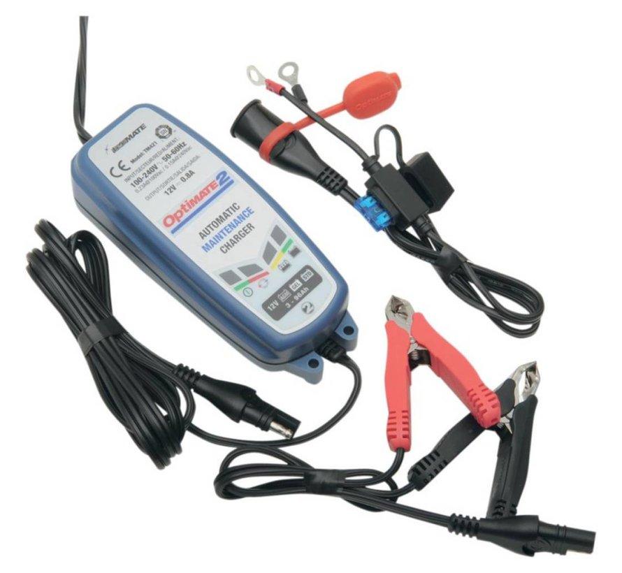 batterij OPLADER OPTIMATE 2 eu