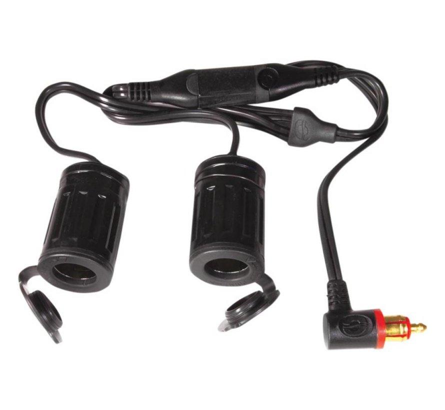 batterij CORD Y-SPLITTER DIN 2 SIGARET