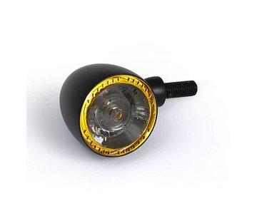 Kellerman koplamp BULLET 1000PL chroom zwart of mat chroom