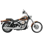 Bassani exhaust Road Rage 2-into-1 system HS 06-11FXD - Chrome/Black