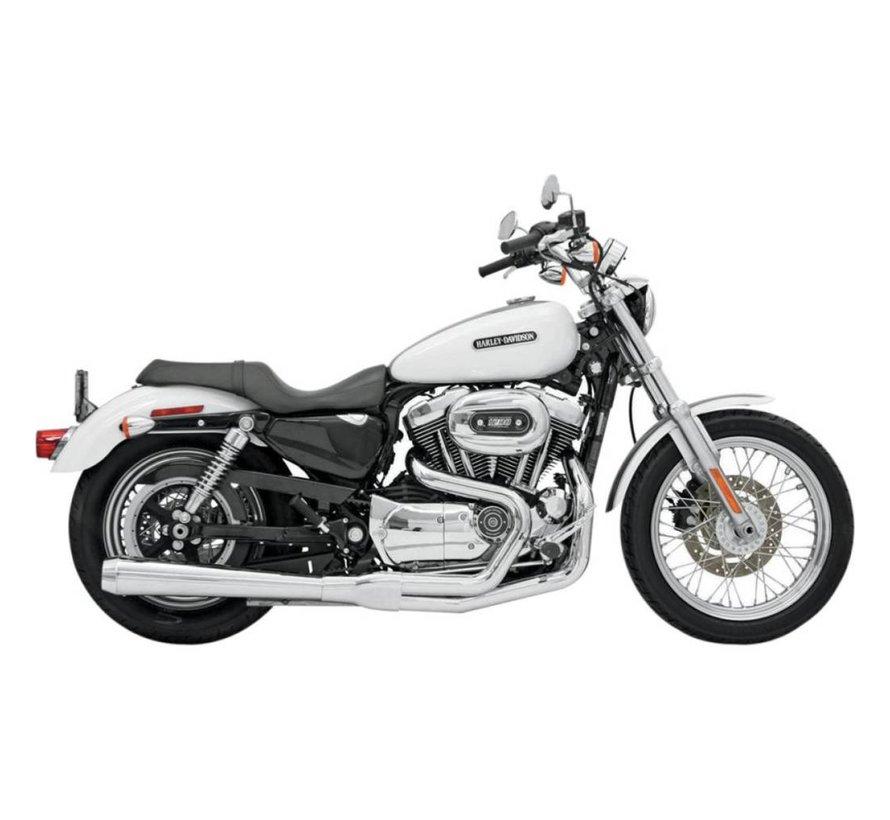 Harley Davidson EXHAUST Road Race HS 07-13 XL - Chrome