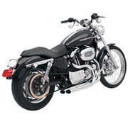 Bassani exhaust  PRO-STREET SL 07-13 XL - Chrome/Black