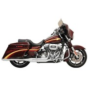Bassani exhaust  Road race 2-1 Fits:> 10-15FLT - Chrome/Black