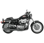 Bassani exhaust  Road Race 2-1 XL86-03 - Black