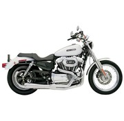 Bassani EXHAUST Road Race 2-1 86-03XL - Chrom / Schwarz
