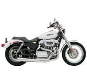 Bassani exhaust  Road Race 2-1 04-13XL Chrome/Black