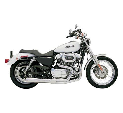 Bassani Harley Davidson Abgas Road Race 2-1 04-13XL Chrom / Schwarz