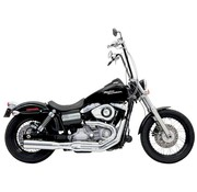 Bassani exhaust  2-1 B1 Road Rage II 91-11Dyna Black/Chrome