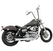 Bassani 2-1 MEGA Road Rage II FXD Chrome or Black Fits:. 99‐17 FXD/FXDWG