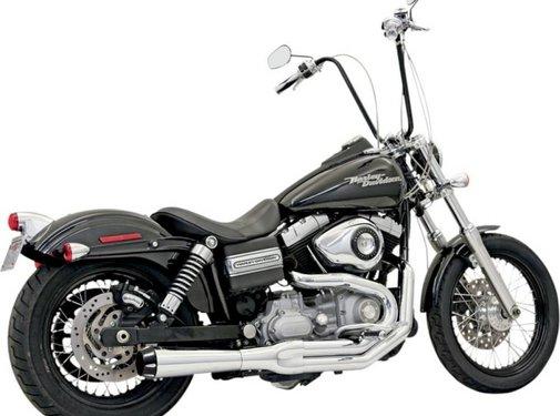 Bassani exhaust  2-1 MEGA Road Rage II FXD Chrome/Black