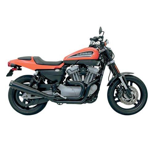 Bassani Harley Davidson Auspuff 2-1 Road Rage II B1 Strom XR1200 -Schwarz