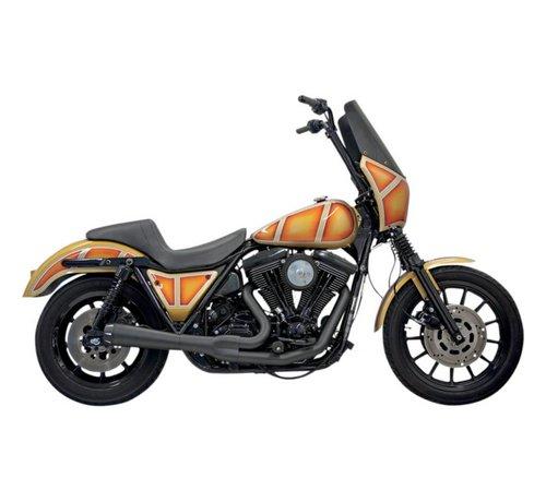 Bassani Bassani Exhaust Road Rage 2-1 Chrom / Schwarz Passend für:> HD FXR-Modelle